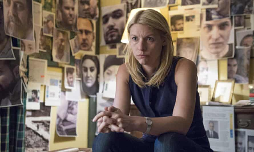'Her condition was her superpower and her fatal flaw' ... Claire Danes as Carrie in Homeland.
