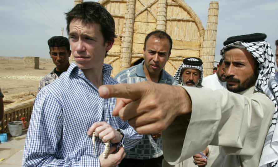 Stewart in Maysan province, Iraq, in 2004.