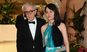 Woody Allen and Soon-Yi Previn at the 2016 Cannes film festival