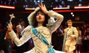 Indya Moore as Angel.