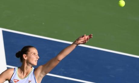 Karolina Pliskova calls men 'super weak' for worrying about equal pay in tennis