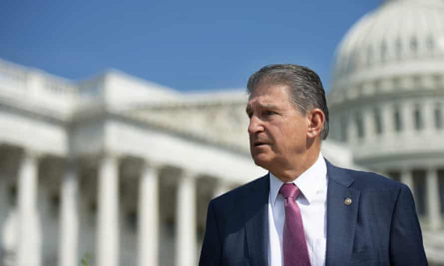 'I cannot support $3.5tn. If I can't go home and explain [the bill], I can't vote for it,' Manchin told ABC's This Week.