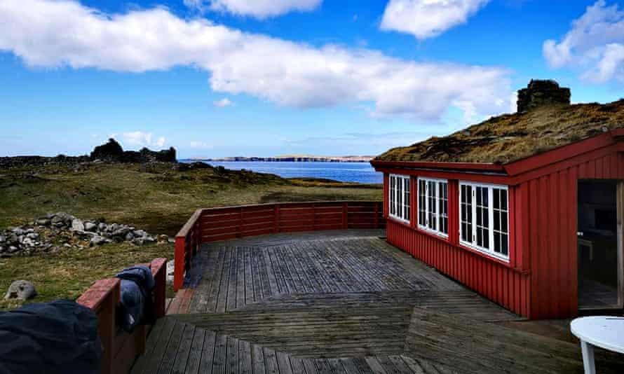 Hildasay hut