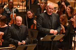 Soloists Norbert Ernst and Albert Pesendorfer at the Barbican