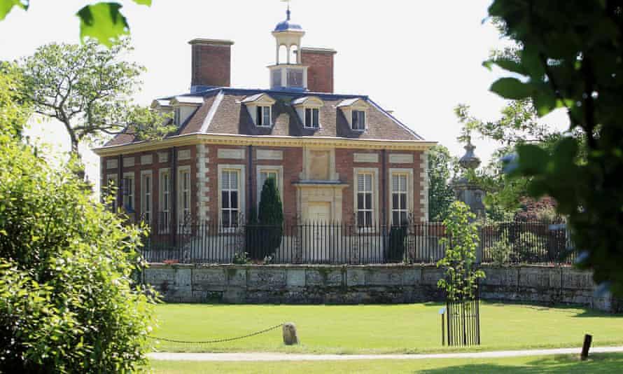 Tony Blair's home in South Pavilion, Wooton Underwood, Buckinghamshire.