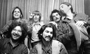 """The Grateful Dead, 1970 (clockwise): Bob Weir, Phil Lesh, Bill Kreutzmann, Ron """"Pigpen"""" McKernan, Mickey Hart and Jerry Garcia."""