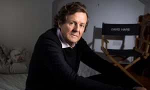 David Hare - photographed in his writing studio in North London Photograph by DAVID LEVENE For SATURDAY