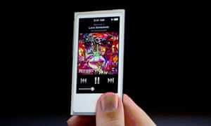 The iPod Nano is launched in 2012.