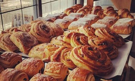 Pastries at Jacka Bakery