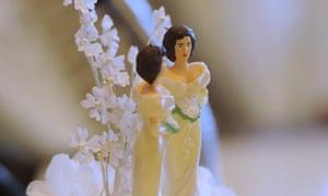 wedding cake brides gay marriage same-sex