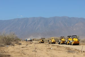 A 204km road linking the remote area to the nearest paved road will be constructed