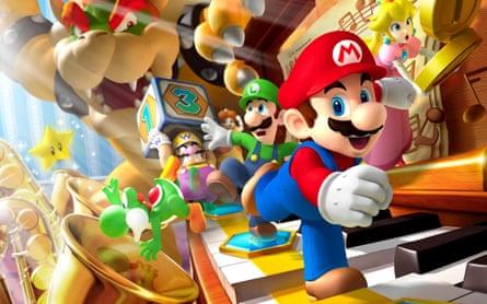 'Beautiful and compelling': Super Mario Run.
