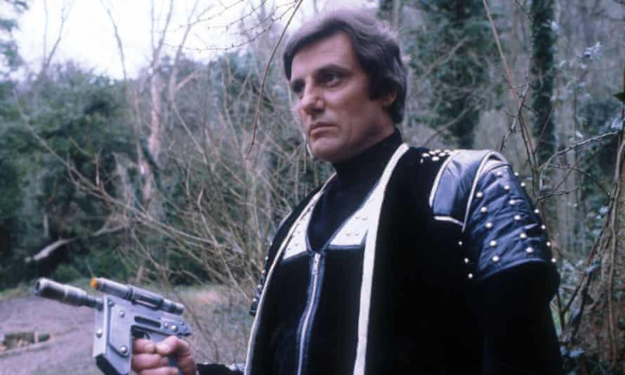 Paul Darrow in the BBC's Blake's 7 series