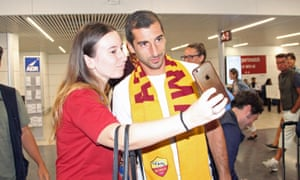 Henrikh Mkhitaryan is now at Roma having found it difficult to hold down a regular place at Manchester United and Arsenal.