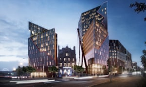 An artist's impression of the £200m New Chinatown development in Liverpool.