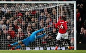Pogba scores United's third.