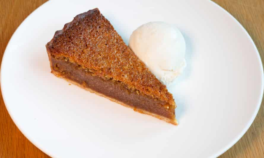 'Kitchens love making it right now. Fine by me': treacle tart.