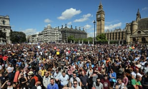 March for Europe in Parliament Square