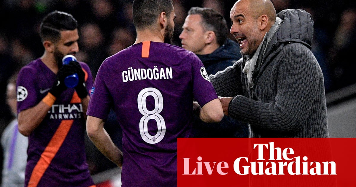 ff5a3872e Guardiola hits back at Gündogan, Premier League news and more – as it  happened | Football | The Guardian
