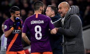 Pep Guardiola has given short shrift to Ilkay Gündogan's suggestion that Manchester City were 'nervous' against Spurs.