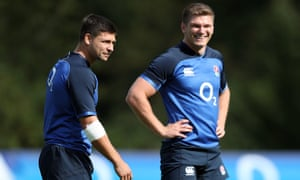 Ben Youngs and Owen Farrell