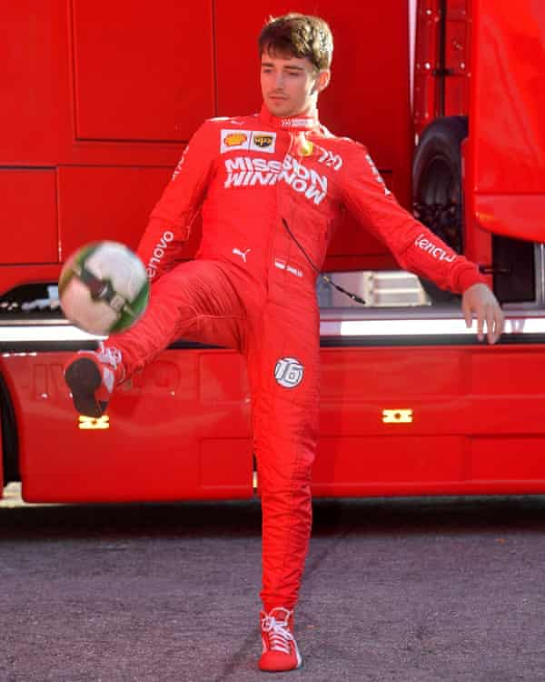 Sat behind Sebastian Vettel in the pecking order at Ferrari, Leclerc is playing the long game in respect to his F1 career.