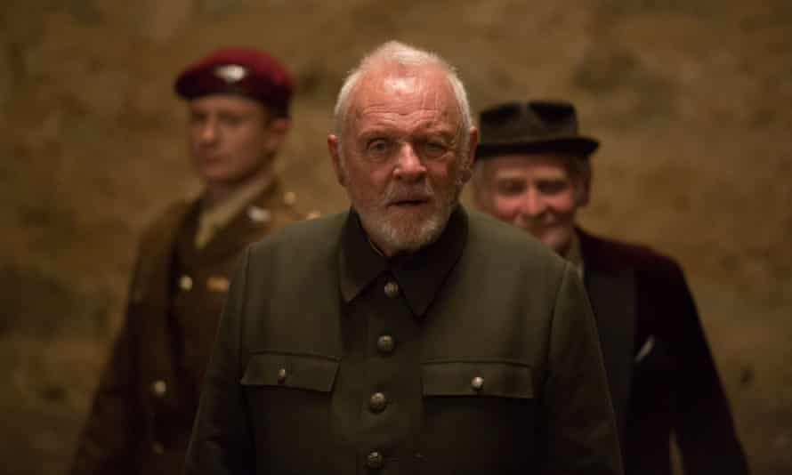 Anthony Hopkins in King Lear.