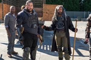 Can Richard make King Ezekiel realise that could be no way of peace with the Saviors and that violent resistance was necessary?