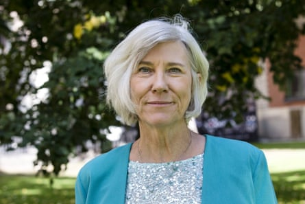 Prof Joan Rose received the world's most prestigious water prize at a conference in Stockholm this week.