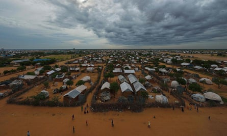 Part of the Dadaab refugee camp in Kenya