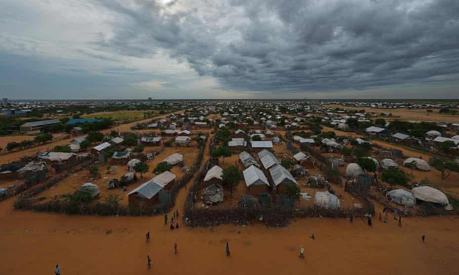 The eastern sector of the sprawling Dadaab refugee camp, north-east of the Kenyan capital Nairobi.