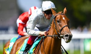 Frankie Dettori rides another big-race winner on Raffle Prize in the Duchess of Cambridge Stakes at Newmarket on Friday.