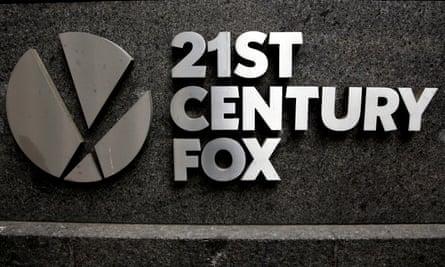 21st Century Fox sign
