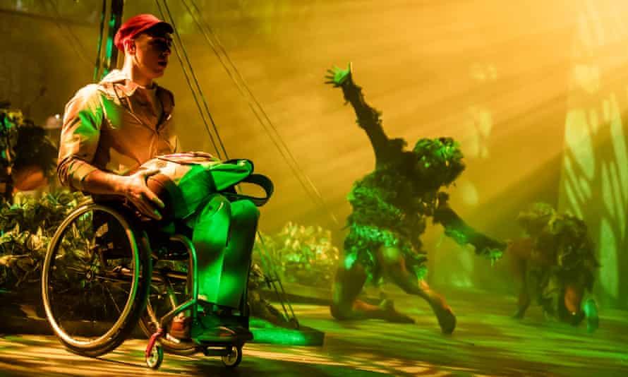 Joel Brown as Shaun in The Lost Thing.