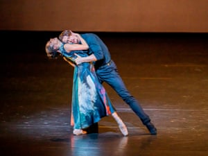Calvin Richardson and Romany Pajdak in Cathy Marston's In Our Wishes