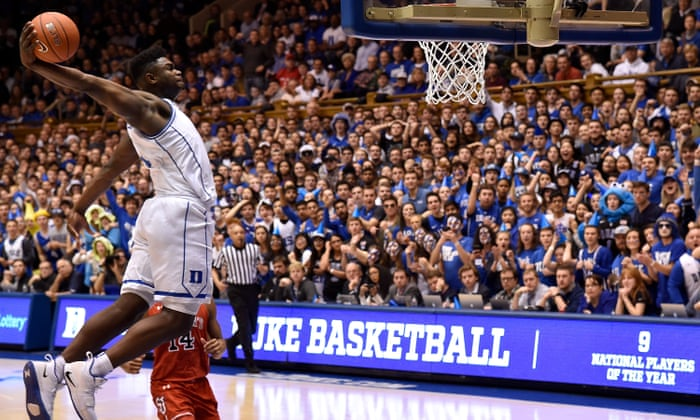 ce6ba5bbe0e5 Zion Williamson s injury-by-Nike exposes college basketball s hypocrisy