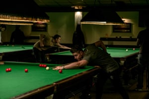 The Romford Snooker Club, famous as the club where Steve Davies started his career