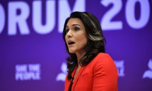 Democratic presidential candidate Tulsi Gabbard warned that if the Mueller report had found that the president had colluded with Russia, it could have led to civil war.