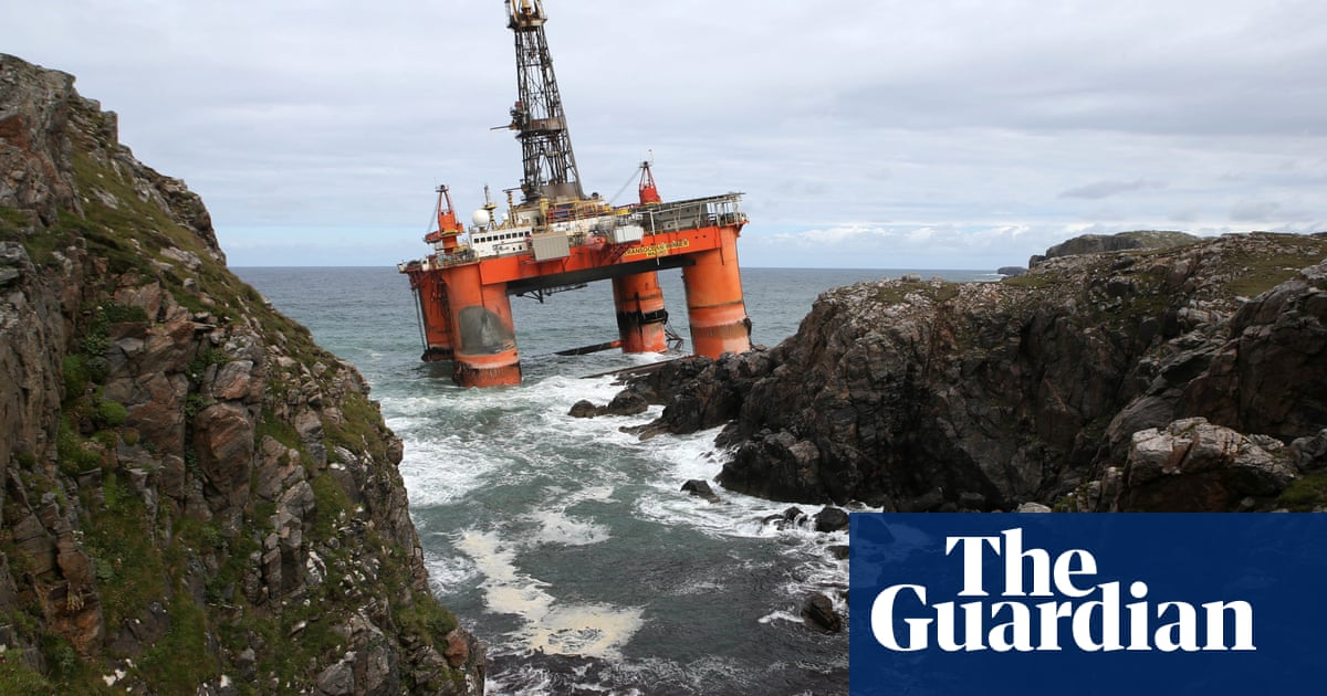 When a drilling platform is scheduled for destruction, it must go on a thousand-mile final journey to the breaker's yard. As one rig proved when it