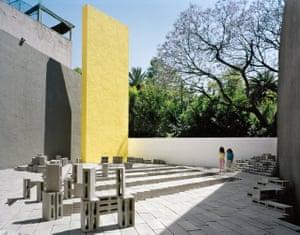 El Eco Pavilion, 2010, Mexico City by Frida Escobedo.