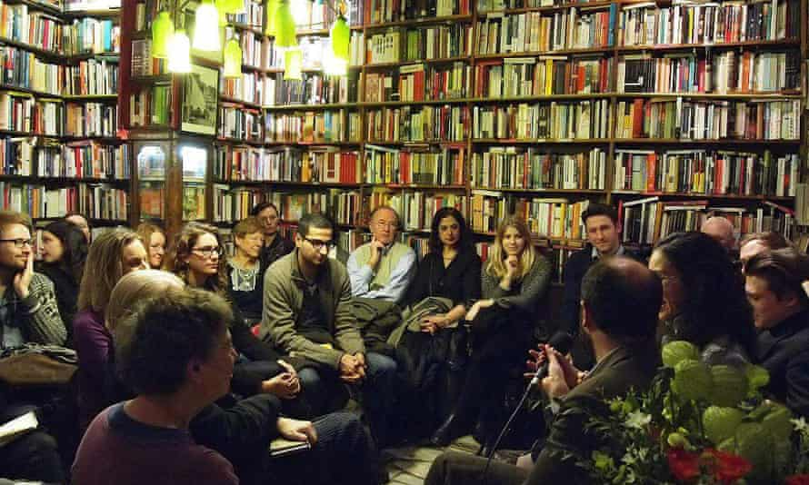 A White Review event at Shakespeare & Co., Paris