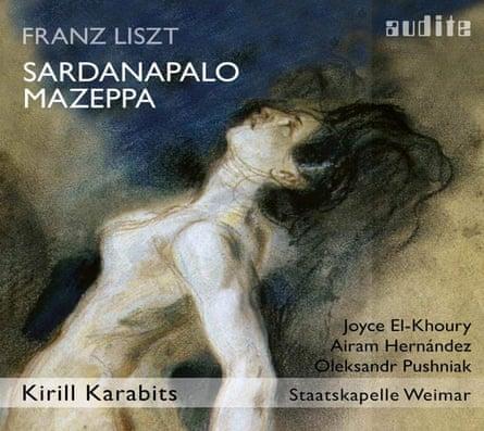 Liszt: Sardanapalo, Mazeppa artwork