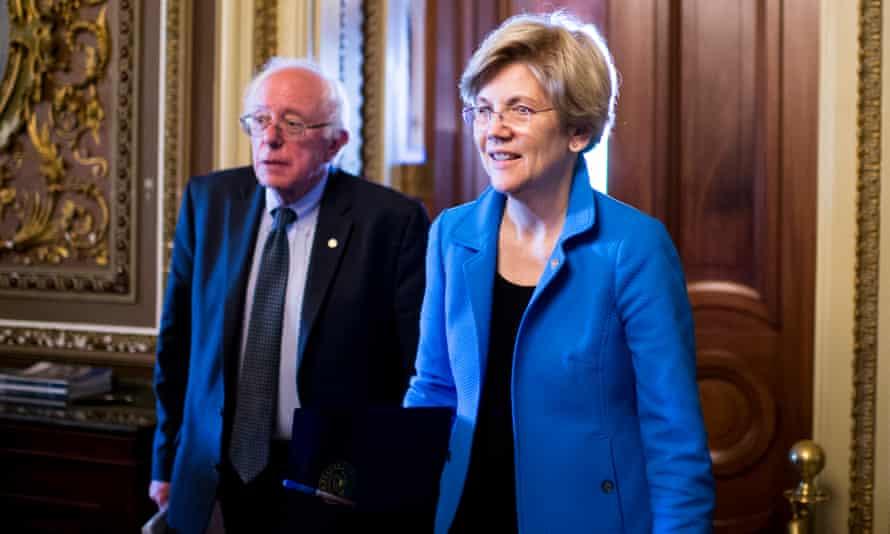 Sen. Bernie Sanders and Sen. Elizabeth Warren.