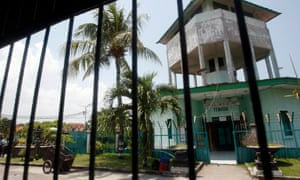 Kerobokan prison in Bali, from which Shaun Davidson has reportedly escaped.