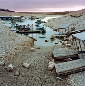 Medina Lake is filled to just 25% of its capacity