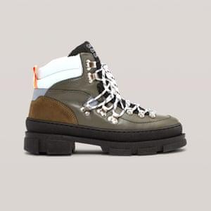 Hiking, £300, ganni.com