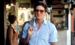 Richard Gere combines 'charm with menace' in the 1980 film American Gigolo.