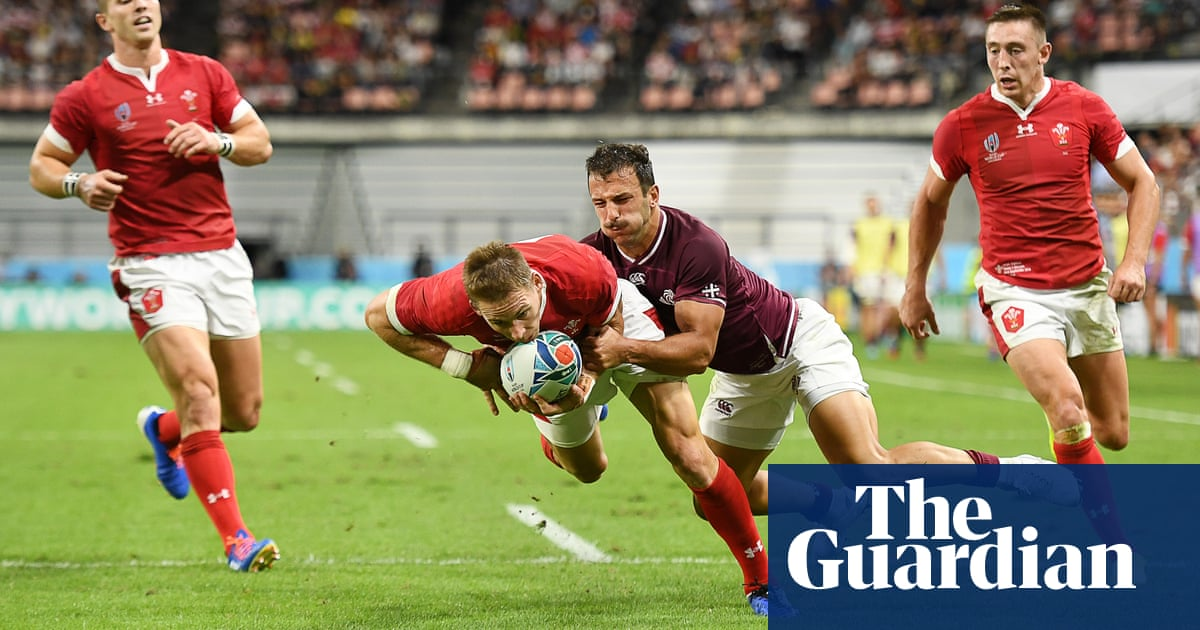 Wales' first-half blitz ensures victory over Georgia in Rugby World Cup