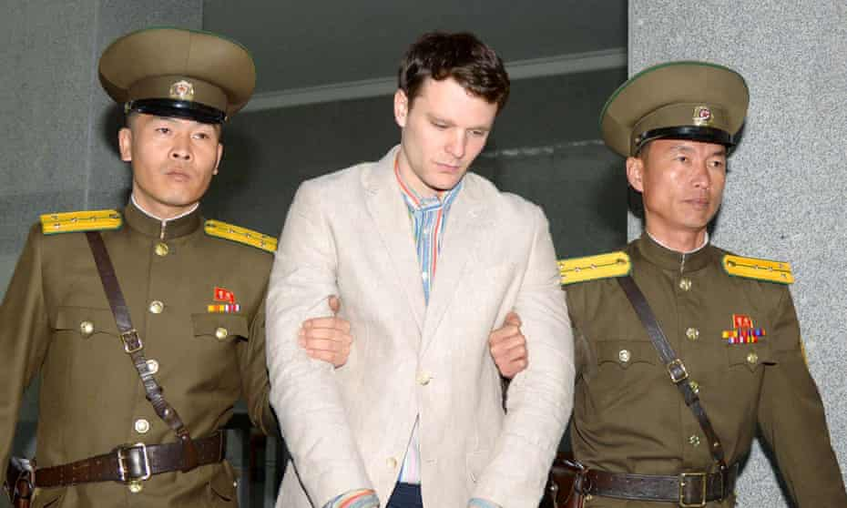 US student Otto Warmbier died after being sentenced to hard labour in North Korea.