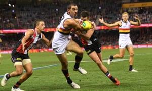 AFL, Saints v Crows